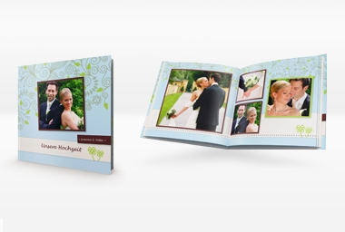 Fotobuch auf Fotopapier 20x20 / 24 - 100 Seiten inkl. Cover