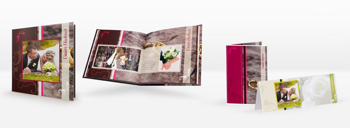 Fotobuch Vorlagen für Ihre Hochzeit