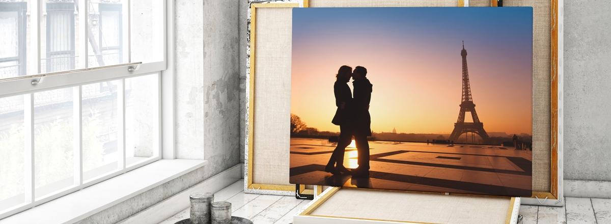 Ihr Foto gedruckt auf Fotoleinen