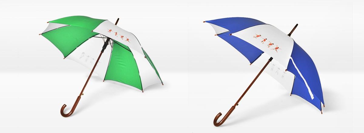 Regenschirm individuell gestalten