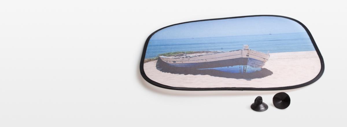 Sonnenschutz mit Fotodruck