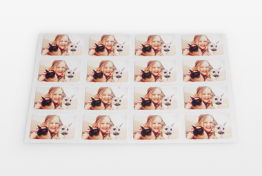 Mini-Sticker selbst gestalten