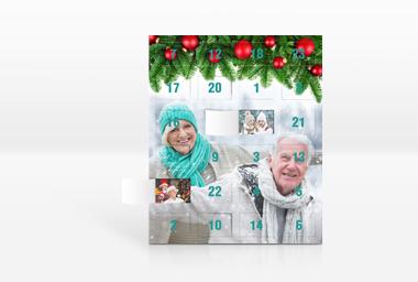 Adventkalender mit Foto