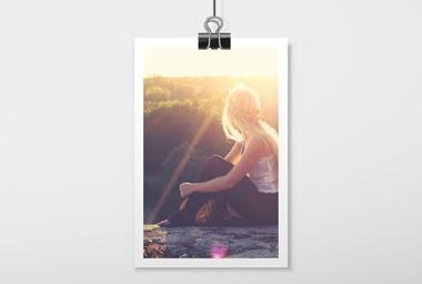 10x15/13 cm FOTO Premium Matt / weisser Rand