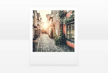 9x11 cm FOTO Plus im Polaroid-Stil