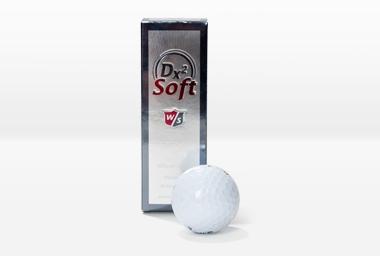 Balle de golf DX2 balle à distance 3 pièces blanc