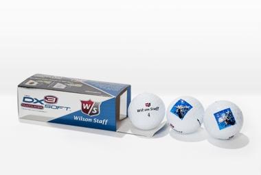 Balle de golf DX3 Soft 3 pièces blanc