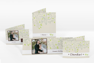 Carte de mariage 10x15