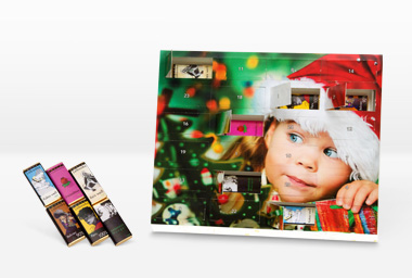 Foto Adventkalender 30x25 (Zotter Schokolade)