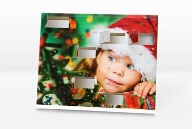 Foto Adventkalender 30x25 (zum Befüllen)