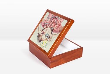 Geschenkkästchen 13x13