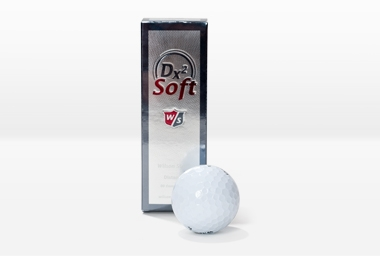 Golfball DX2 Distanzb. 12 Stk. weiß