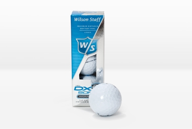 Golfball DX2 Soft Ladies 3 Stk. weiß