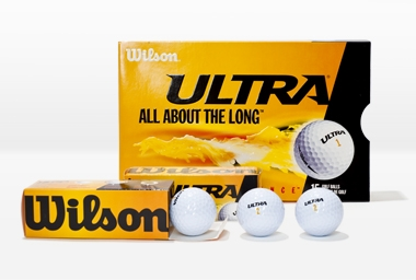 Golfball Ultra Distance 3 Stk. weiß