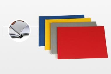 Livre photo CLASSIC LIN - 13x18 cm - Format horizontal - Couverture rigide lin