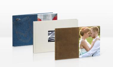 Livre photo PREMIUM LUXE 30x20cm - Format horizontal - Ouverture à plat - Couverture rigide