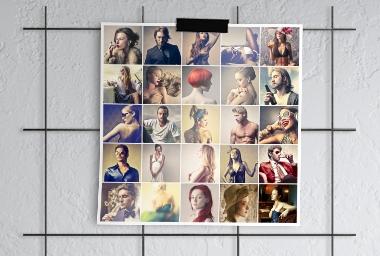 Poster Pêle-Mêle 50x70