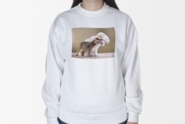 SWEAT-Shirt - beidseitig bedruckt