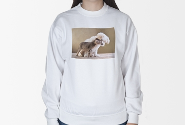 SWEAT-Shirt - einseitig bedruckt