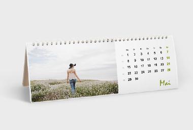 Tischkalender 10x30 cm