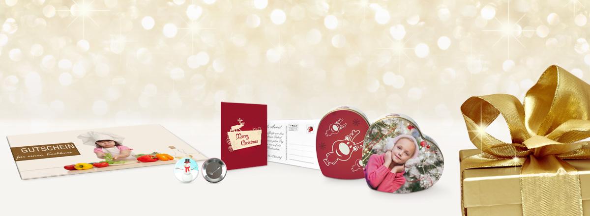 Weihnachten - Geschenkideen mit Foto