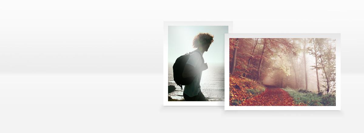 Fotos Premium mit Rand