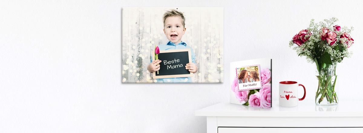 Persönliche Fotogeschenke zum Muttertag