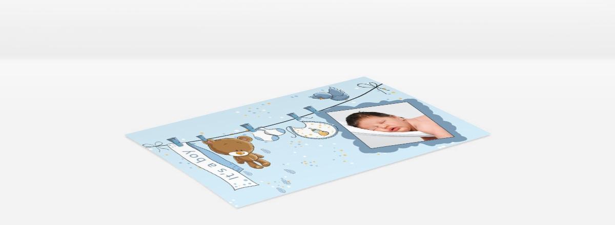 Grußkarte auf Fotopapier