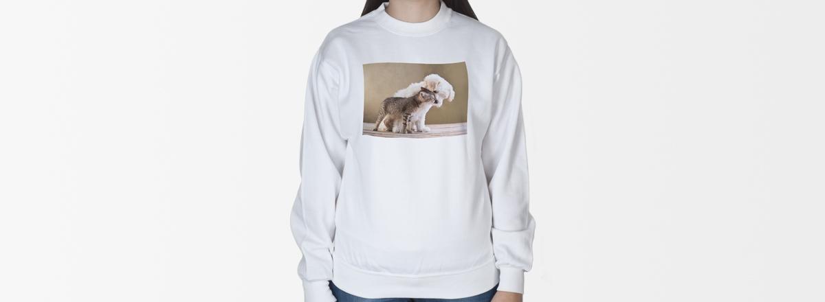 Sweater mit Foto