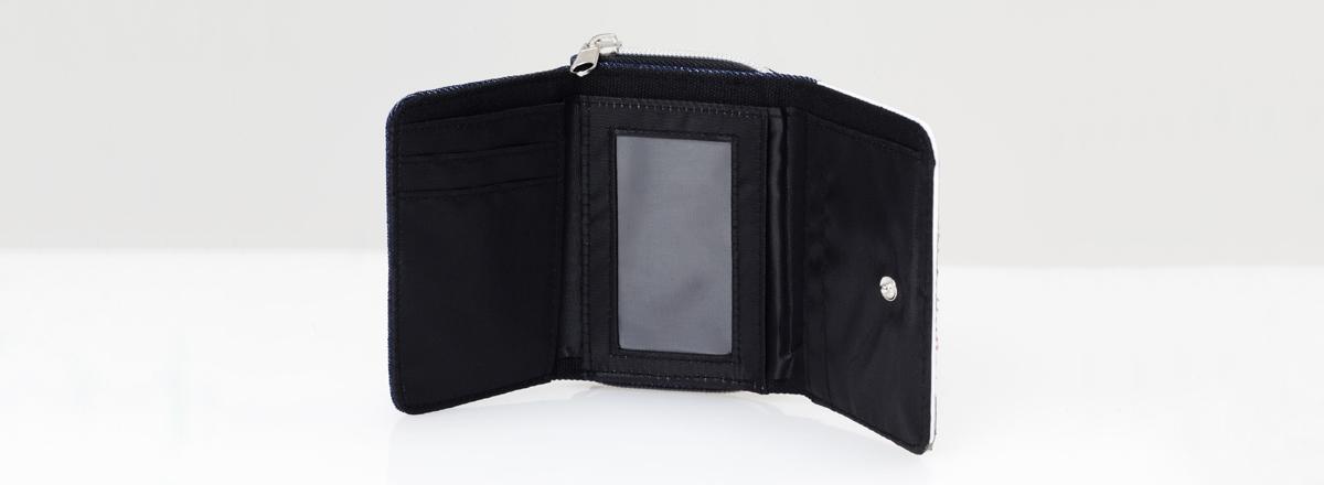 Geldtasche aus Jeansstoff gestalten