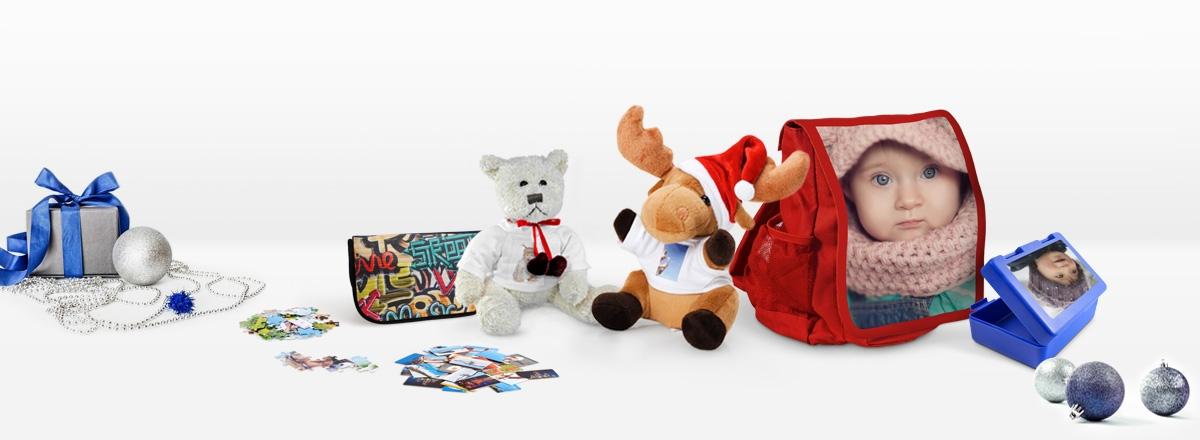 Weihnachten - Foto-Geschenke für Kinder