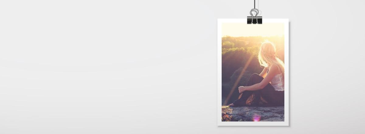 Premium Fotos mit weißem Rand