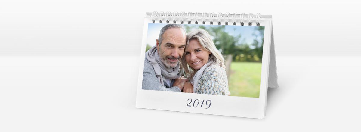 Tischkalender auf echtem Fotopapier