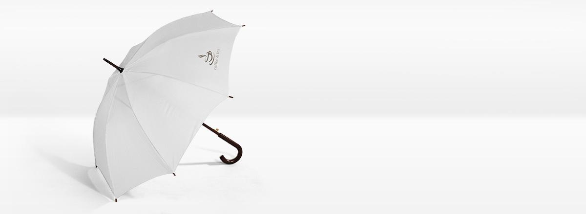 Schirm mit Foto
