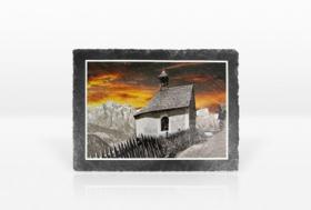 Schiefersteinplatte 20x14,5cm