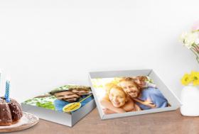 Geschenkboxen mit individuellen Fotos