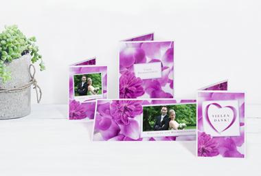 Cartes de mariage à réaliser soi-même