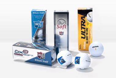 Hochwertige Golfbälle mit Foto
