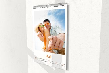 Wandkalender hochformat