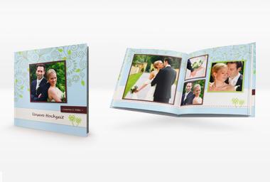Hochzeitsalbum - Fotobuch auf echtem Fotopapier