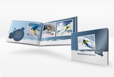 Designvorlage Winterurlaub