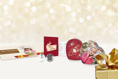 Weihnachten - Produkttipps für Gutscheine, Verpackung