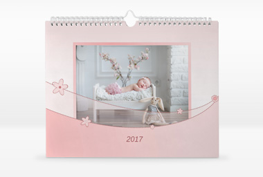 Fotokalender mit Designvorlage