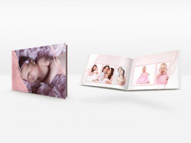 Fotobuch mit Vorlagen für Baby, Geburts und Geburtstag