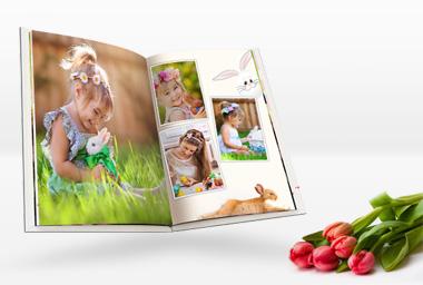 Fotobuch gestalten mit den schönsten Ostermomenten
