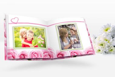 Fotogeschenke in Herzform - Geschenkideen für Muttertag