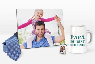 Fotogeschenke zum Vatertag