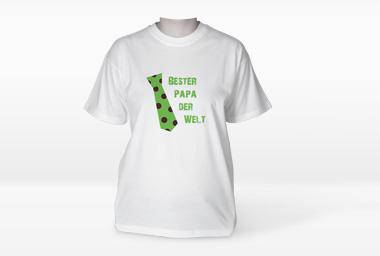 Foto-Shirts als Vatertagsgeschenk