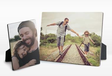 Bedruckte Bilderrahmen als perfektes Vatertagsgeschenk