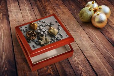 Geschenkkästchen mit Foto für kleine und große Schätze